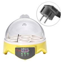 7 яиц инкубатор Пластик цифровой куриный Контроль температуры