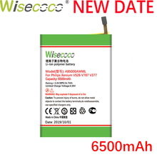 цена на Wisecoco AB5000AWMT 6500mAh New Battery For Philips Xenium V787 CTV787 V526 CTV526 V377 CTV377 Phone Battery + Tracking Number