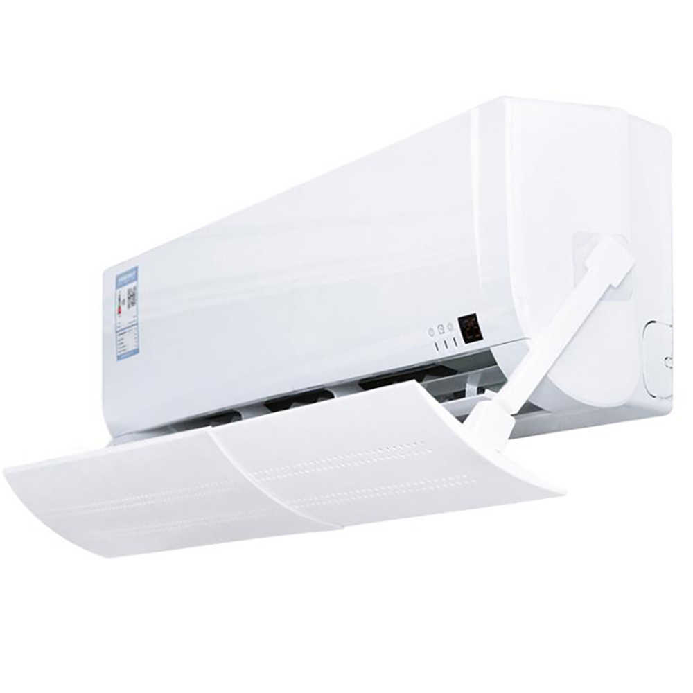 Universele Holle Anti Direct Blazen Airconditioning Wind Deflector Baffle Shield Verstelbare Airconditioner Cover Voorruit