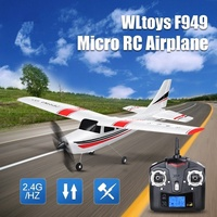Radio Control Airplane 2.4G 3CH Fixed Wing Plane Outdoor Long Distance Rubber Plane Remote Control RC Airplane Toy