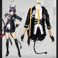 Game Arknights Cosplay Costumes Chen Cosplay Costume Uniforms Halloween Carnival Party Anime Women Cosplay Costume Customized цена