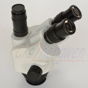 Image 3 - FYSCOPE 新到着顕微鏡 7X 45X サイマル 焦点三眼ズームステレオ顕微鏡ヘッド SZM45TN