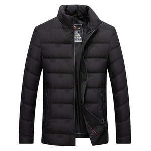 Image 5 - Mens White Duck Down Jacket Winter Slim Hooded Down Coat Selected Feather Clothing  for Men 9231 New 2019