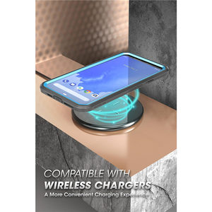 Image 4 - Suporte para google pixel 4 xl case (2019) ub pro capa protetora de prendedor, película de corpo inteiro robusta com capa protetora de tela embutida