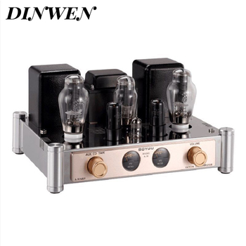 Single End 300B Vacuum Tube Amplifier Hifi Audio Vintage Class A Tube Integrated AMP 300B Home Amplifier 8.2W