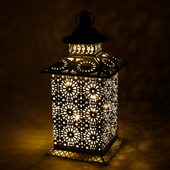 Creative Hollow Wind Lamp Candle Holder Home Decoration Leaflet Lamp Led Candle Lamp Iron Crafts LED Decorative Night Light lantern cast iron lantern candle holder tealight holder lantern owl crafts table top crafts