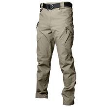 Outdoor IX9 mężczyźni Militar taktyczne spodnie w stylu cargo Combat Swat szkolenie wojskowe spodnie wojskowe spodnie sportowe do polowania na wędrówki tanie tanio PAVEHAWK Zipper fly Pełnej długości Airpolar 100 Camping i piesze wycieczki Pasuje prawda na wymiar weź swój normalny rozmiar