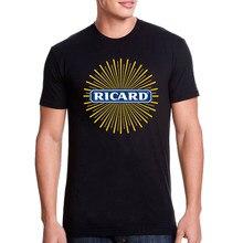 Koszulka męska 2020 moda RICARD bawełniane topy Streetwear t-shirty z krótkim rękawem kobiety 2020 lato Ropa Mujer t-shirty Vetement Nous
