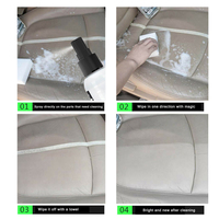 furadeira Car Wash Upholstery Cleaner Car Automotive Interior Dry-Cleaning Seat Foam Dry Cleaning Agent 5