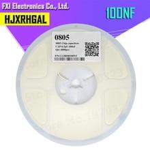 1 rolka 4000 sztuk 0805 SMD kondensator ceramiczny 100NF igMopnrq nowy gorące produkty