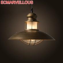 Gantung Lampen Industrieel Industriele Lamp Decor Nordic Design Luminaria Luminaire Suspendu Deco Maison Loft Pendant Light