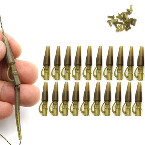 20SET Safety Clips Kit Quick Change Clips Swivel Carp Leads Weight Seeker Method Feeder Carp Fishing Equipment Tackle