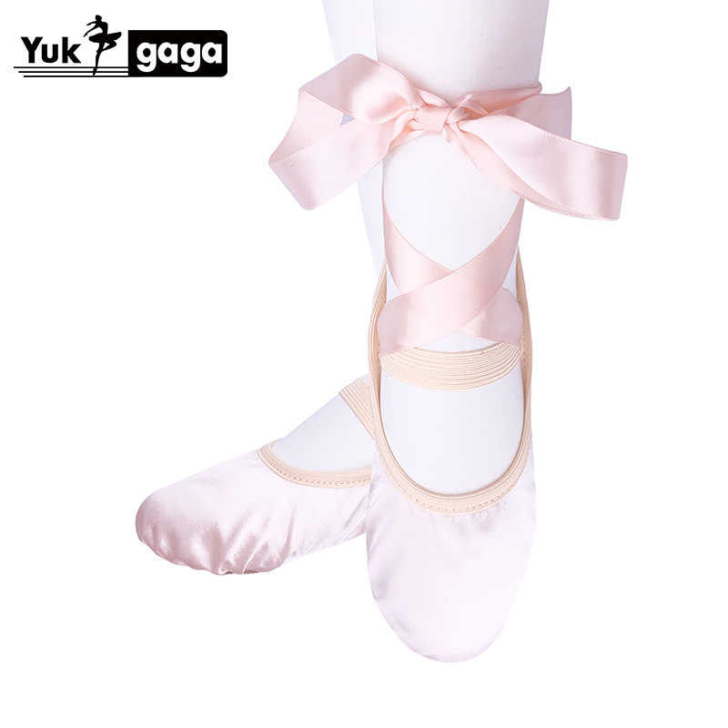 Dance Shoes Shoes Pointe Fitness Gymnastics Slippers Dancing Yoga Soft Pink