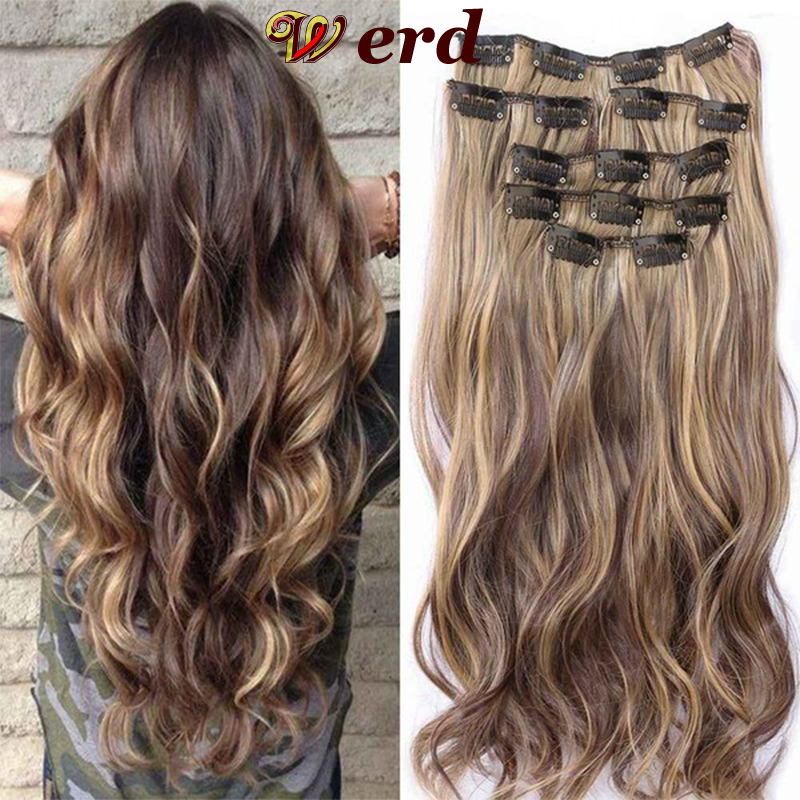 16 Clips In Hair Extension Body Wave 22