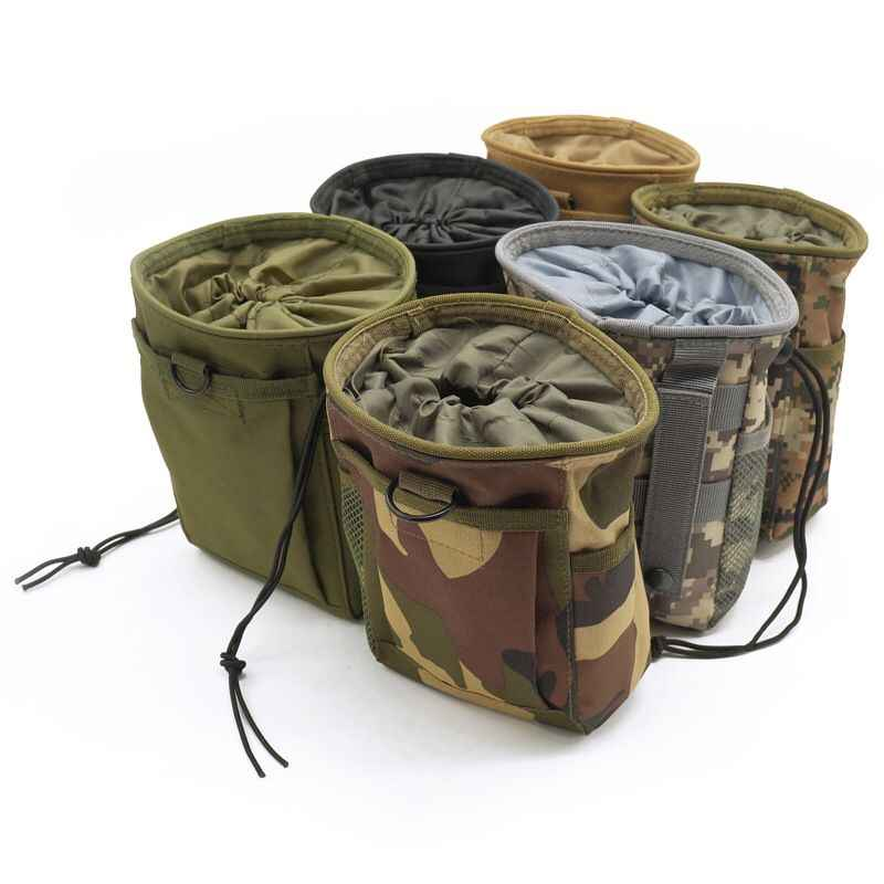 Tactical Military Molle Ammo Pouch Hunt Gun Rifle Magazine Dump Drop Reloader Pouch bag Utility Airsoft Paintball Mag Shell Pack
