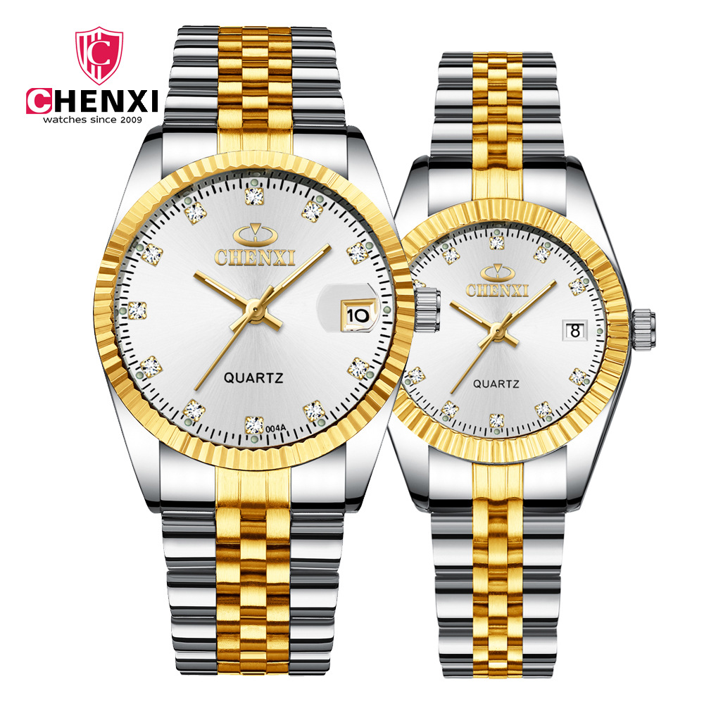 2019 New Fashion Brand Genuine Business Men's Watch Calendar Quartz Watch Luminous Waterproof Genuine Business Watch Male
