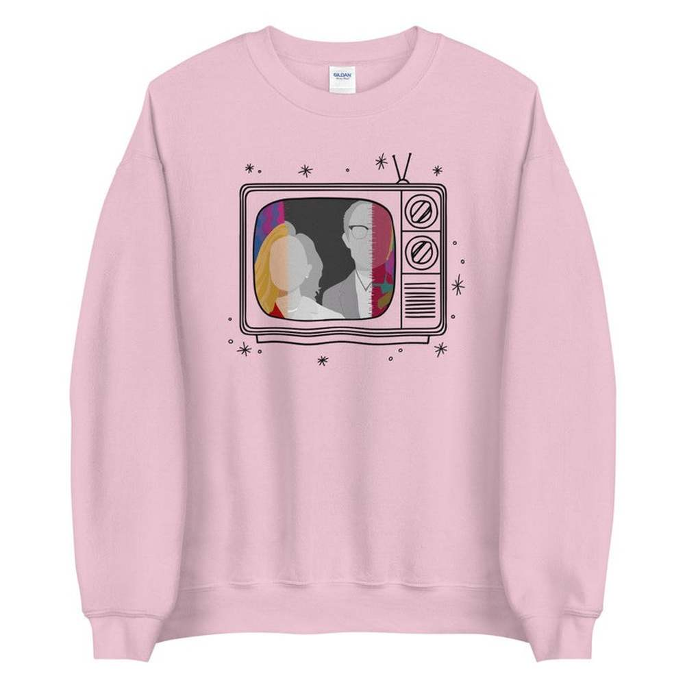 New Tv Show WandaVision Sweatshirt An Unusual Couple Wanda TV Graphic Crewneck Pullover Scarlet Witch Hoodie Hipster Tops 3