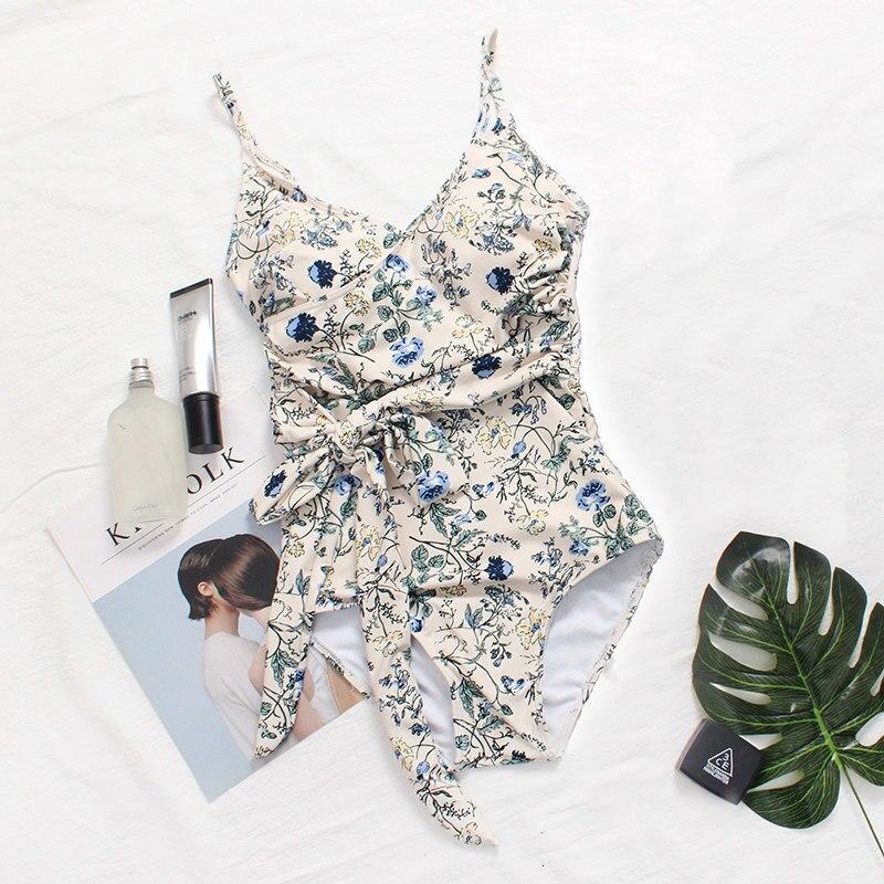 sexy banho 2019 impressão quente swim wear
