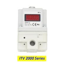 ITV Electro-Pneumatic Regulator smc type ITV2010-312L/ ITV2030-312L/ ITV2050-312L electric proportional valve