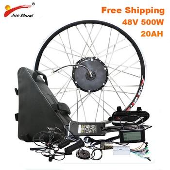 Kit de conversión de bicicleta eléctrica de larga distancia con batería de...