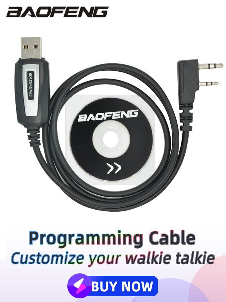 Baofeng Programming-Cable Coding-Cord Walkie-Talkie USB Uv-5r-Accessories BF-888S UV-82