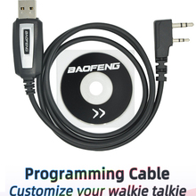 Programming-Cable Walkie-Talkie Uv-5r-Accessories BF-888S UV-82 Baofeng USB for Coding-Cord