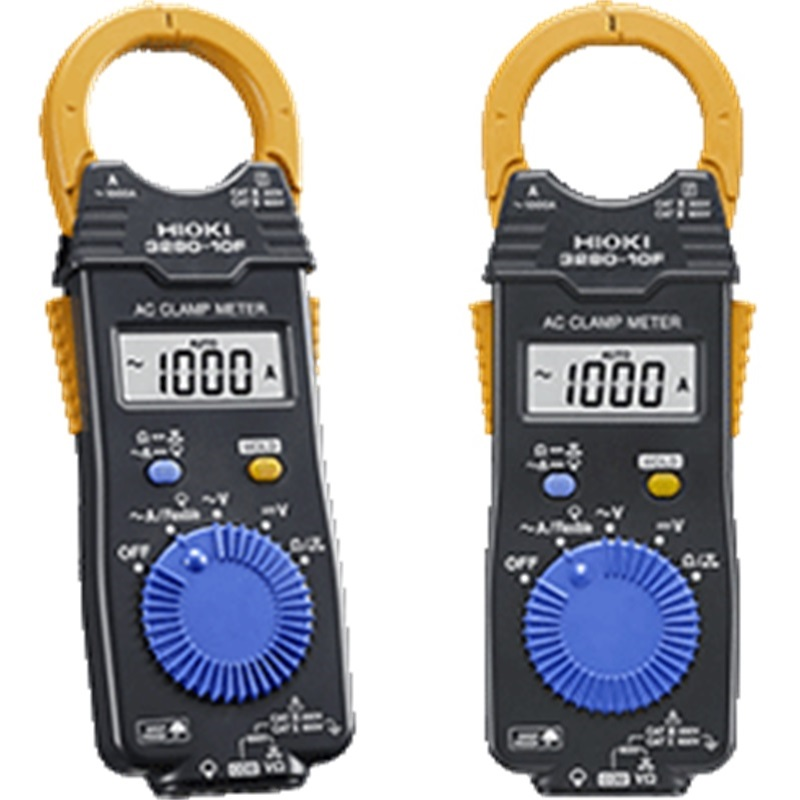 HIOKI 3280-10F Replace 3280-10 1000A AC Digital Clamp Meter with Broad Operating Temperature Range of -25 C to 65 C