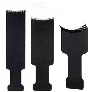 Image 2 - 1PC שחור מקצועי פלסטיק סלון שיער צביעת צביעה לוח צלחת למספרה מספרה עיצוב סטיילינג כלים אבזרים
