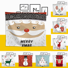 Christmas Tapestry Wall Hanging 3D Digital Printing Christmas Home Decoration Wall Tapestry All-purpose Wall Decor christmas tree gift wall decor tapestry