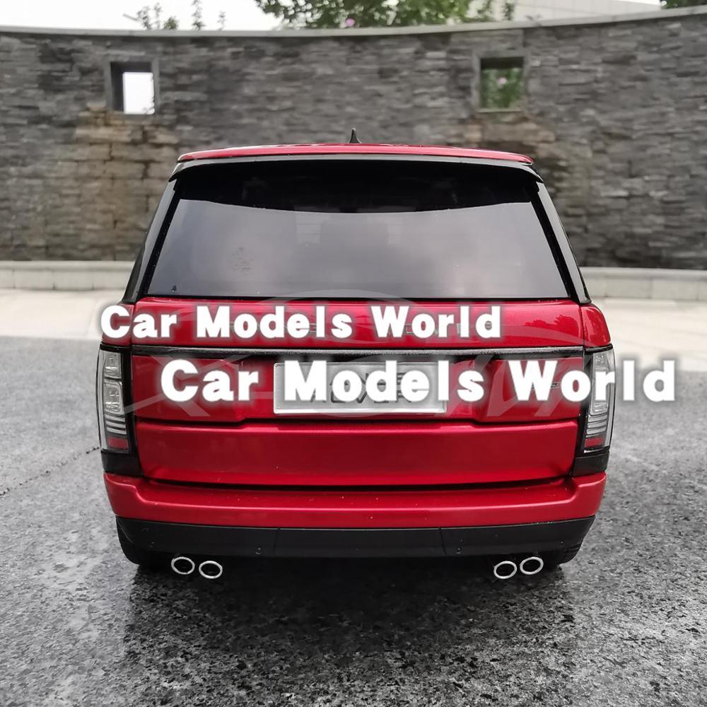 ¡Modelo de coche Diecast LCD 1:18 (rojo) + pequeño regalo!-in Troquelado y vehículos de juguete from Juguetes y pasatiempos    2
