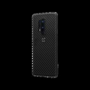 Image 2 - Funda de OnePlus 8 Pro Original oficial, funda de acrílico Kevlar Karbon, piedra arenisca de carbono de nailon Oneplus 6T 7T Pro, funda, carcasa trasera