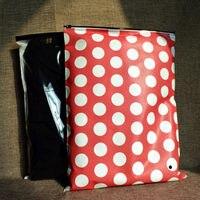 30*40cm(11.81x15.75) Travel storage bag Clothing/T shirt/Shoe storage organizer,Plastic bag with zipper mail shipping supplies