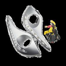 ECAHAYAKU רכב סטיילינג איתות סגנון ממסר 12v LED DRL בשעות היום ריצת אורות ערפל מנורת מכסה עבור טויוטה הנצח 2012 2013
