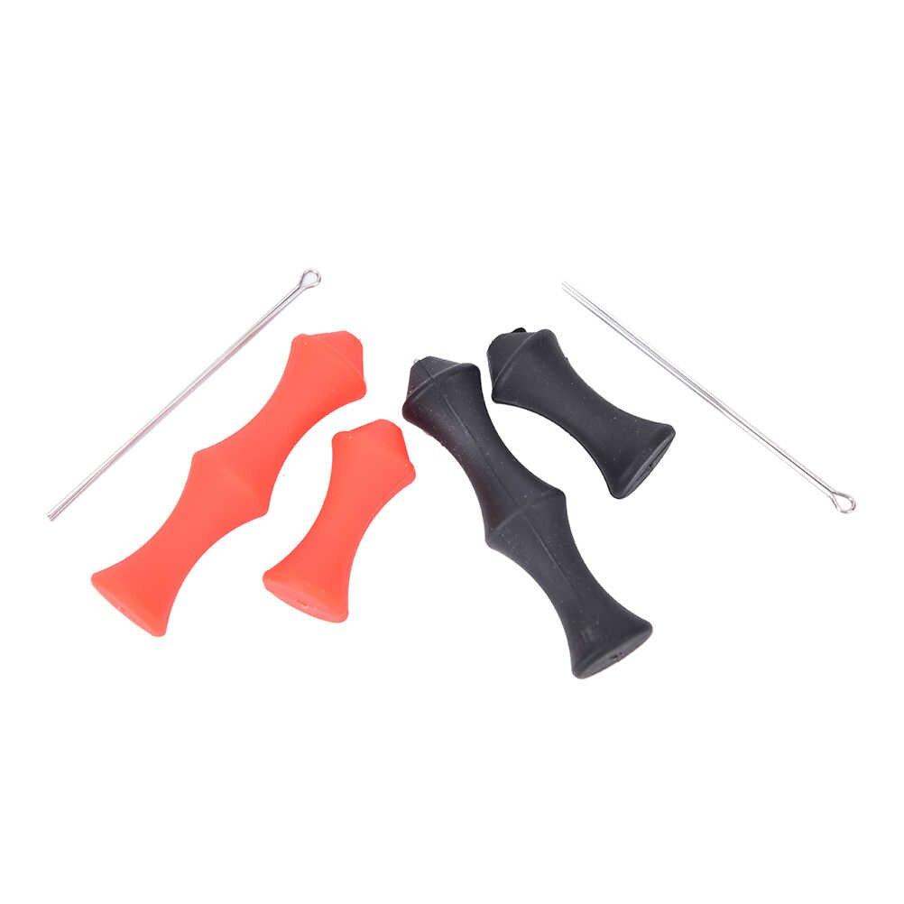 Caça tiro com arco alvo recurvo bowstring dedo guarda sever macio silicone arco string protector engrenagem tiro ao ar livre venda quente