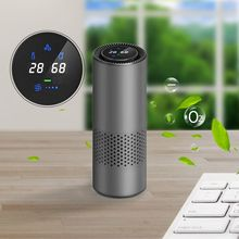 HEPA Air Purifier Mini USB Air Ionizer Car Air Freshener for Home Car Air Cleaner Negative Ion purifiers Remove pm2.5, Smoke,