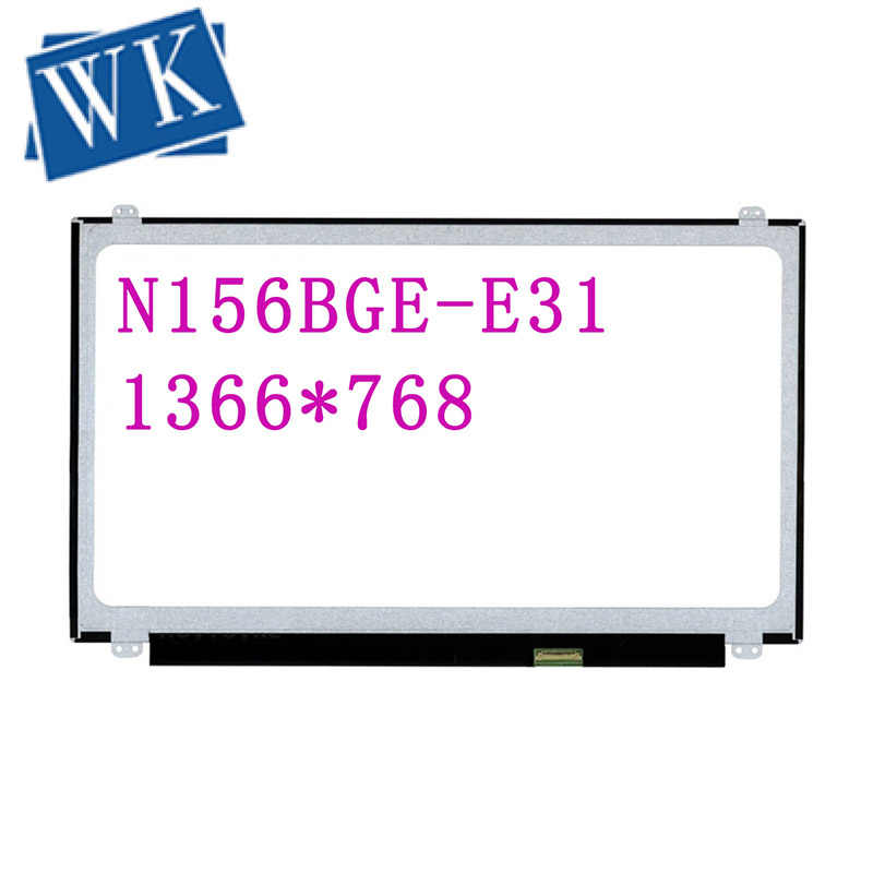 "N156BGE-E31 N156BGE E31 voor hp tpn C125 lcd DISPLAY Led-scherm Matrix Voor laptop 15.6 ""hd 1366x768 30Pin Vervanging Slim"