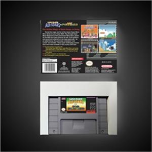 Image 2 - Super Mari All Stars + Super Mari World   RPG Game Card Battery Save US Version Retail Box
