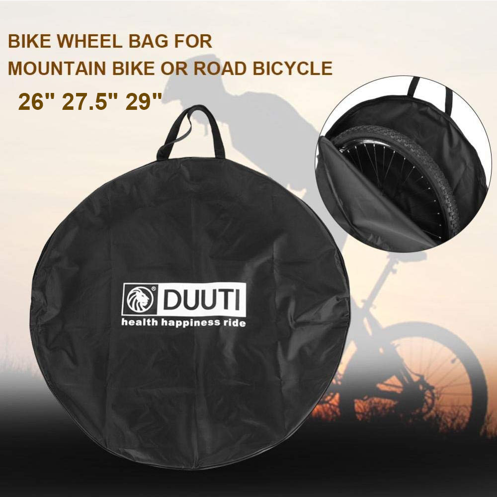 MTB Road <font><b>Bike</b></font> Wheel Bag 73/76/79cm Bicycle Wheelset Storage Bags <font><b>Bike</b></font> Travel Tire <font><b>Carrier</b></font> Mountain Bicycle Bag <font><b>Accessories</b></font> D30 image