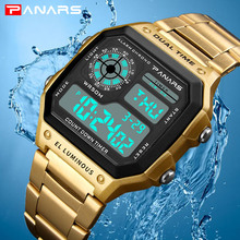 PANARS Watch Men Sport Digital Watches Chronograph