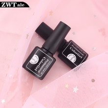 Top Coat 8Ml Gel Nail Polish Melindungi Kuku UV LED Lamp Semi Pernis Permanen Kuku Seni Rendam Off Gel cat Kuku(China)