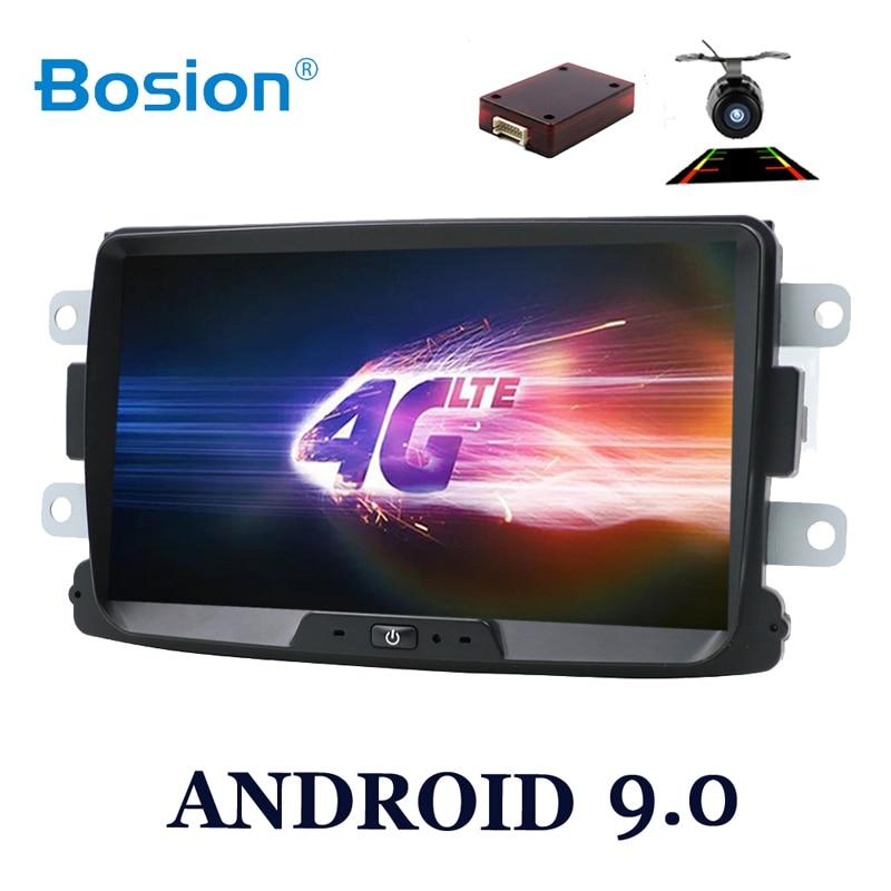 Núcleo octa Android 9.0 car multimedia GPS Para Dacia Duster Sandero Renault Captur Lada Xray 2 2 Dokker Lodgy Logan 2012-2017 WI-FI