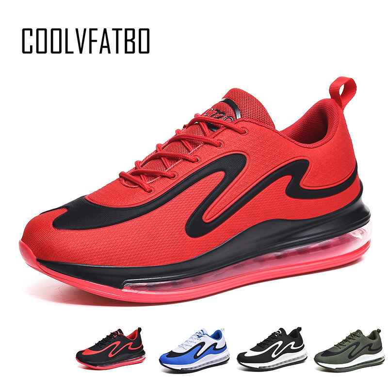 COOLVFATBO Men Shoes Original Air Max 720 Running Shoes Men Sneakers Breathable Casual Sports Outdoor Sneakers New Arrival