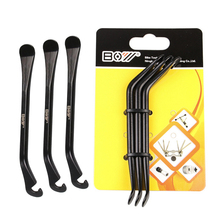 3pcs Bicycle Cycling Tire Tyre Lever Bike Wheel Remover Repair Tire Tool Kit Bicycle Accessories  Bicycle Repair Crowbar bike hand tire lever bead jack lever tool for hard to install bicycle tires removal clamp for difficult bike tire cycling tools