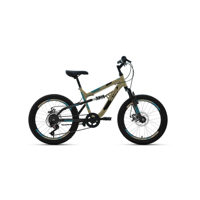 Подростковый велосипед ALTAIR MTB FS 20 20.0 (2020) , цвет бежевый
