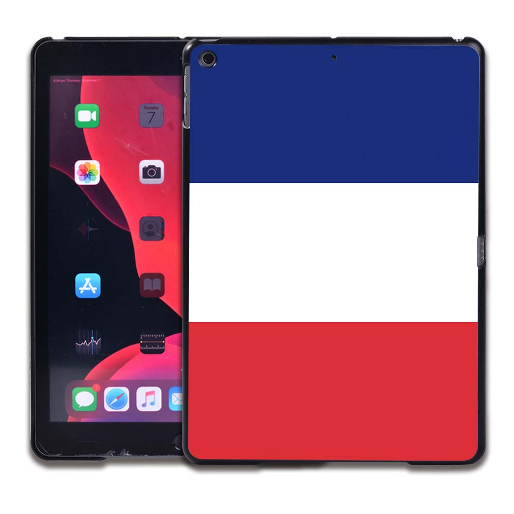12.French flag Rose Red Tablet Hard Back for Apple IPad 8 2020 8th Gen 10 2 A2270 A2428 Z2429 Z2430