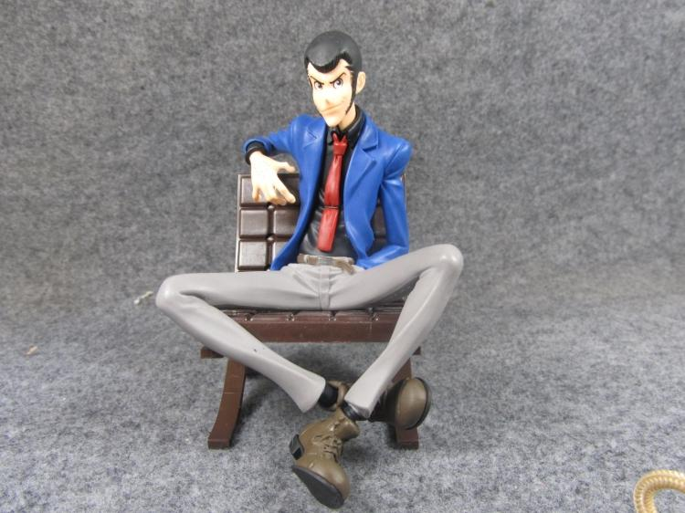 Original 12cm Lupin III Rupan Sansei Movies Moment Action Figure Collectible Model Loose Toy Gifts