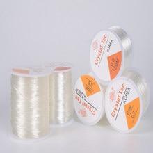 100m elástico cristal cordão de jóias beading string forte stretchy fios de linha para diy colar pulseira jóias fazendo