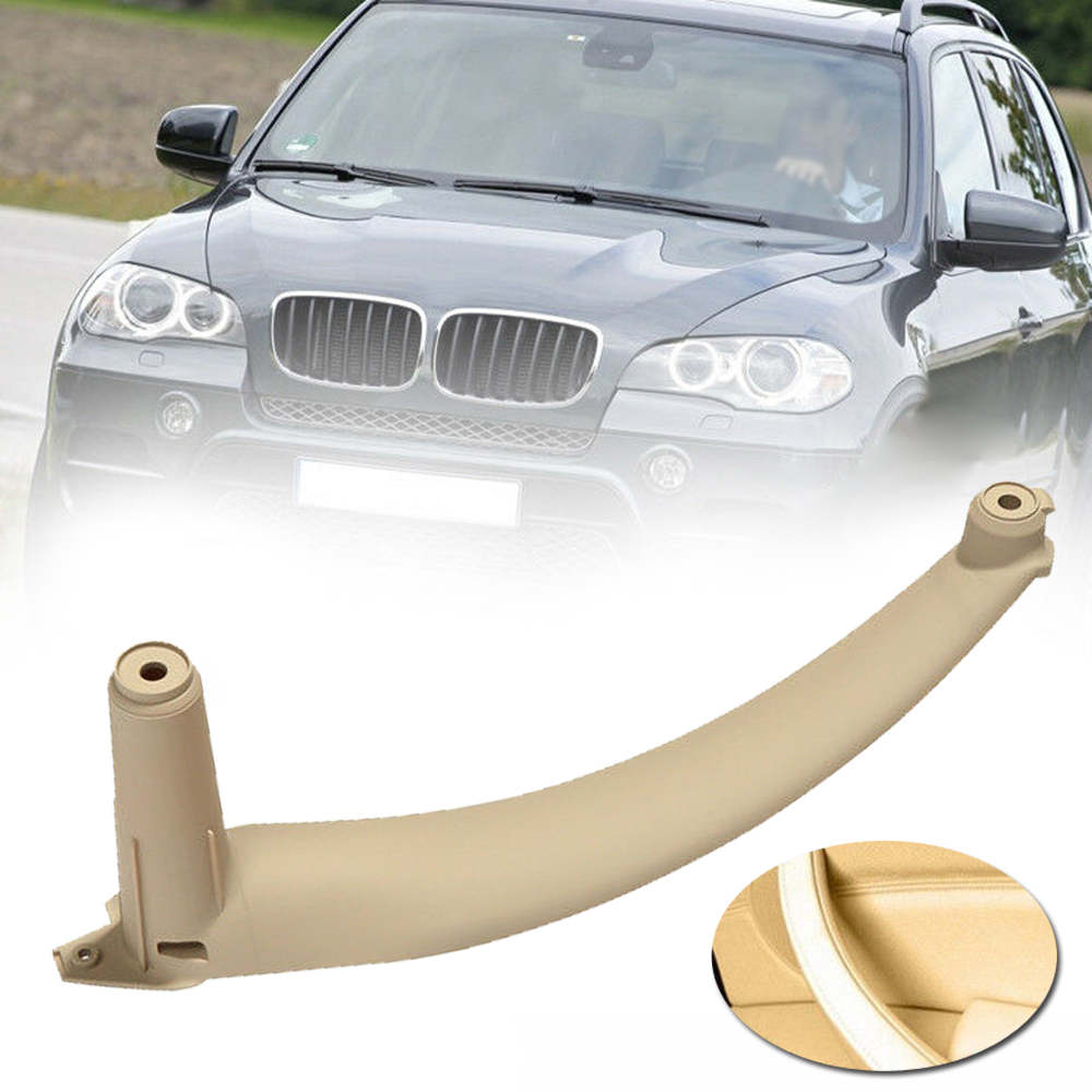 Beige Right Inner Door Panel Handle Pull Trim Cover Fit BMW E70 X5 51416969404