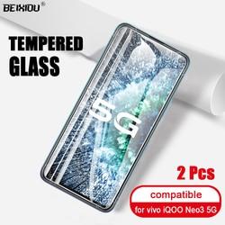 На Алиэкспресс купить стекло для смартфона 2 pcs full tempered glass for vivo iqoo neo 3 5g screen protector 2.5d 9h tempered glass for vivo iqoo neo 3 5g protective film