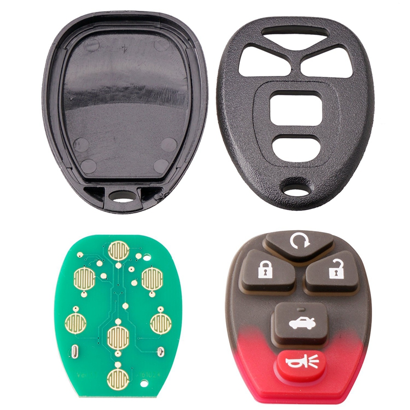 New 5 Button 315Mhz Smart Remote Car Key Fob Fit for Chevrolet Hhr Uplander Buick Terraza Kobgt04A Key Blanks     - title=